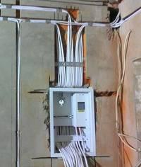 Качественная разводка электропроводки в частном доме
