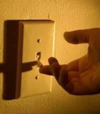 выключить свет
