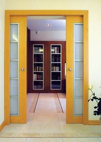 Конструкции раздвижных дверей