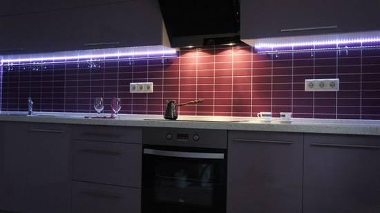 светодиодная лента для кухни