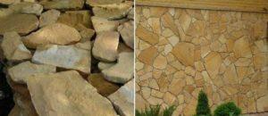 Преимущества применения песчаника
