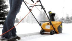 Преимущества электрического снегоуборщика