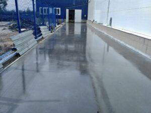 Услуги по укладке бетонных полов