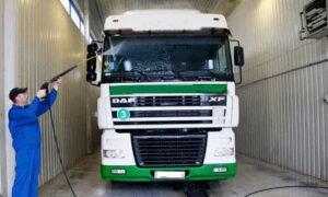 Автомойка грузовых автомобилей