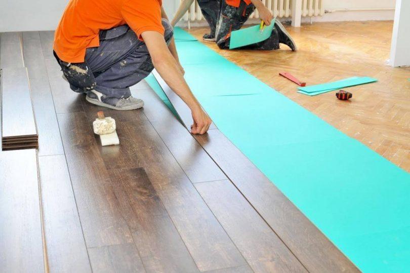 Подложка под ламинат на деревянный пол