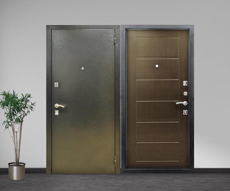 Преимущества входных дверей с порошковым напылением